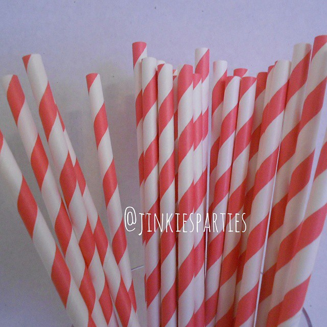 I love these striped paperstraws! Curreny working on restocking myhellip