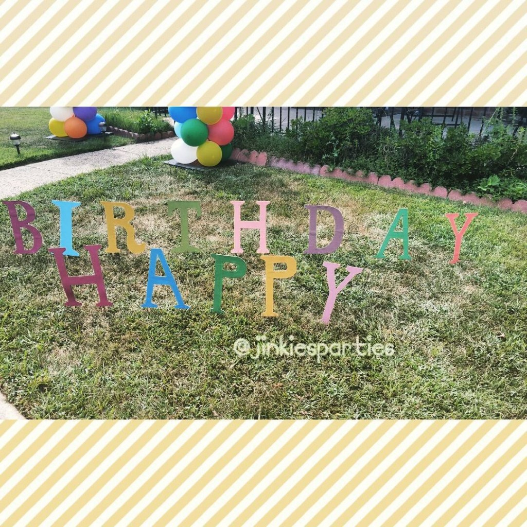 Custom Happy Birthday lawn sign by jinkiesparties bookoflifemovie happybirthday partystylisthellip